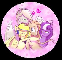 Super Secret Hugging Team! by AlicjaSpring