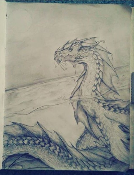 Leviathan Serpent by GilatheHybrid