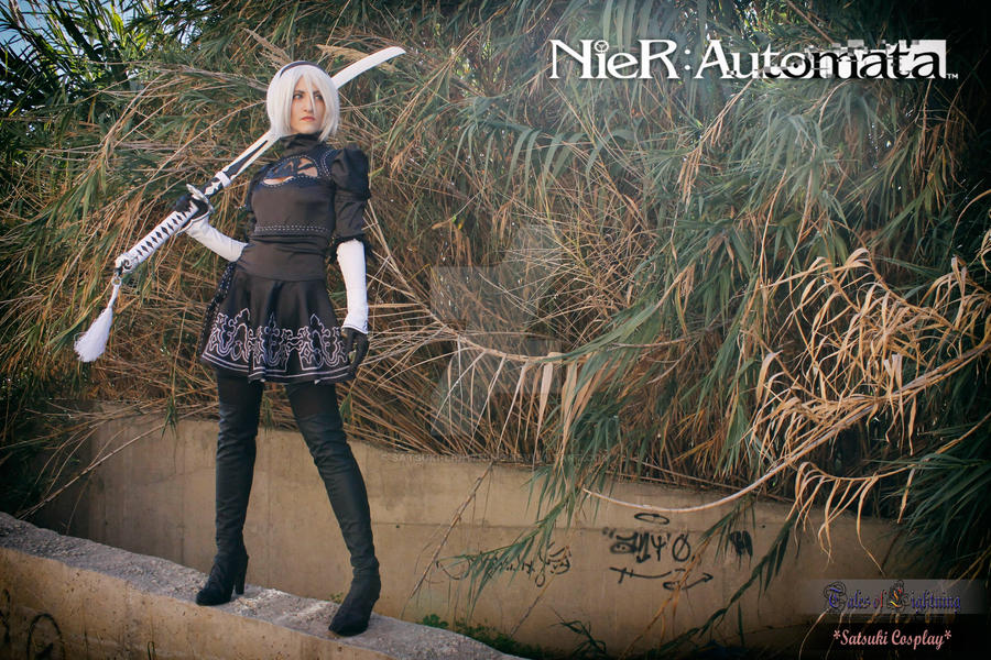 2B - Nier:Automata by Satsuki-Lightning