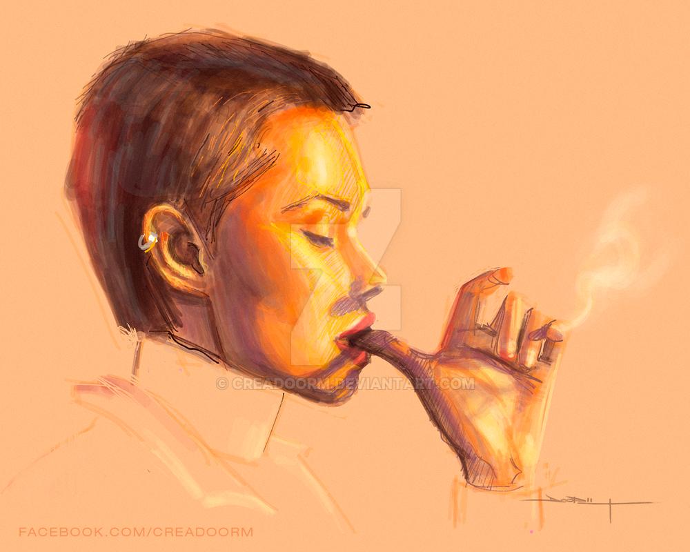 Smoke by Creadoorm