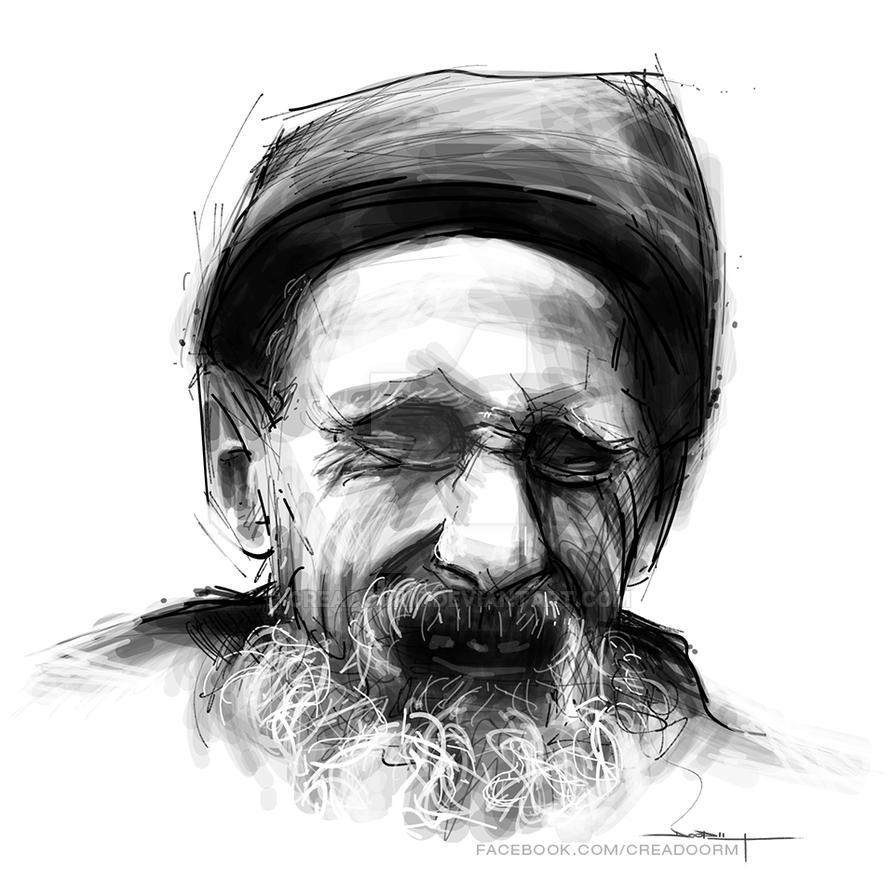 Old man by Creadoorm