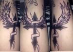 cross Tattoo by 5DogesOfSummer