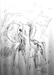 elephant by necromencion