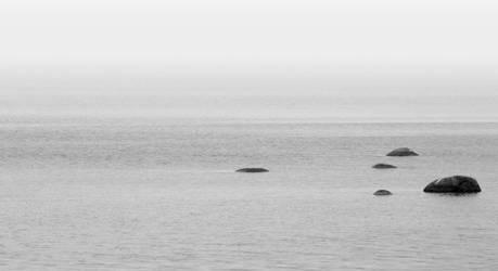 Eternal ocean with spots