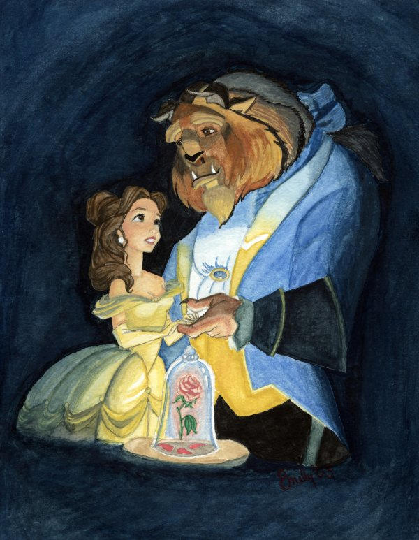 Beauty and The Beast by mlen on DeviantArt
