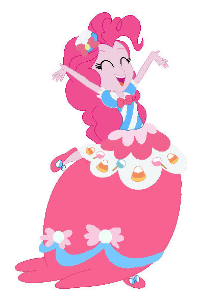 pinkie pie equestria girl gala dress by princesslunalove