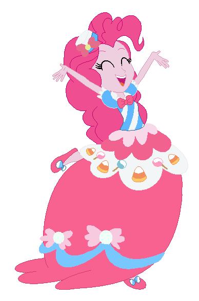 pinkie pie equestria girl gala dress by princesslunalove
