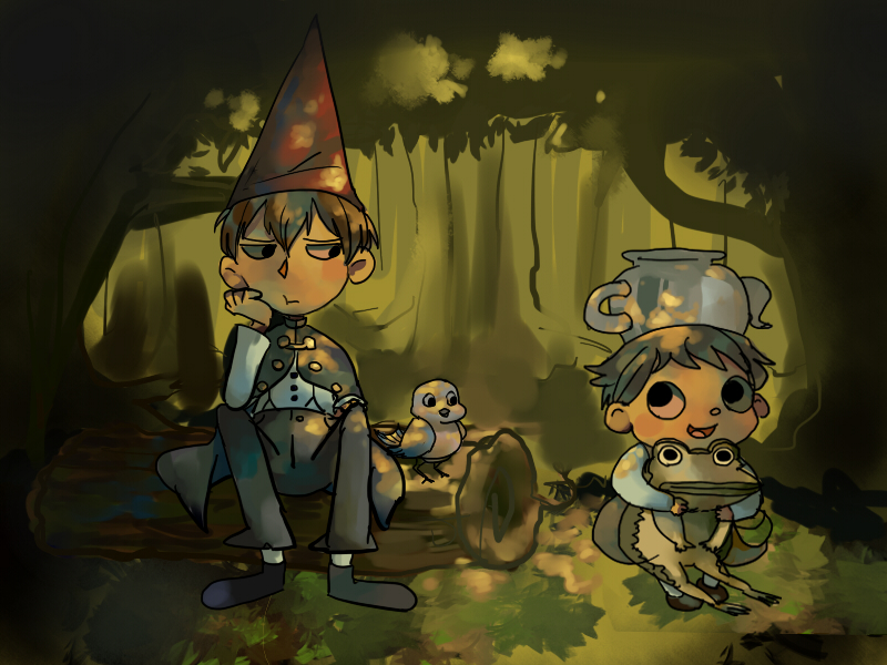 Over The Garden Wall By Applecrazy47 On Deviantart