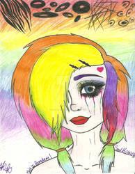 Rainbow Scene girl