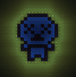 The Binding Of Isaac Pixel Blue Baby By