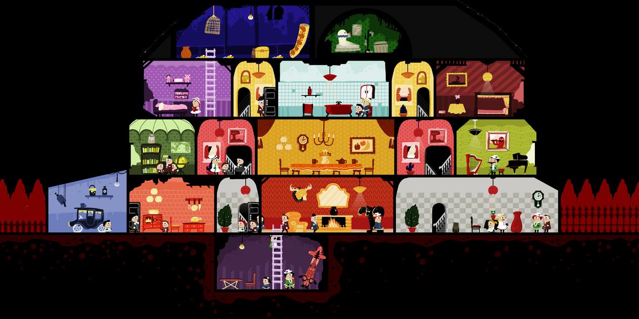 Design D House Game