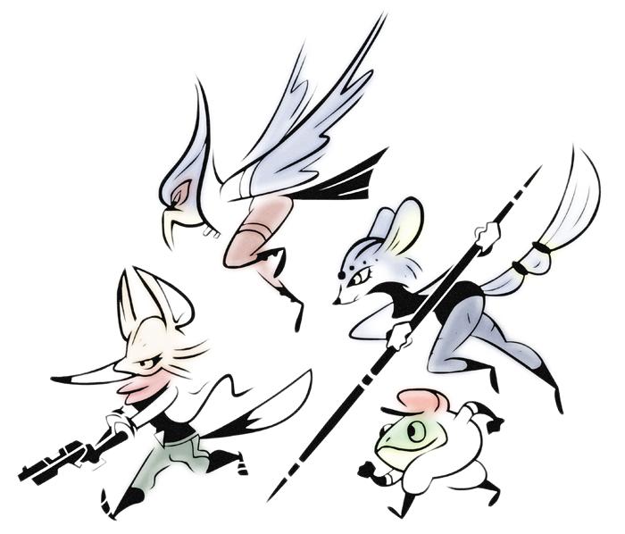 Star Fox Team by FlashBros