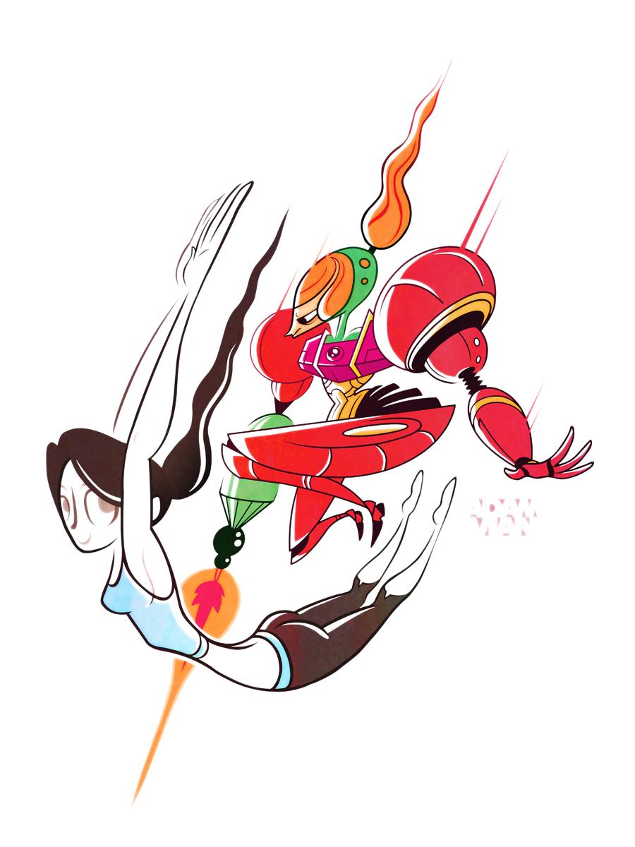 Princess Brawl 3 - Wii Fit Trainer and Samus by FlashBros ...