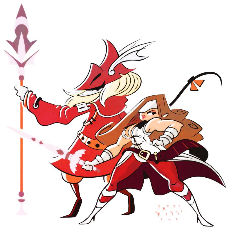 Freya + Beatrix (Final Fantasy IX) by FlashBros