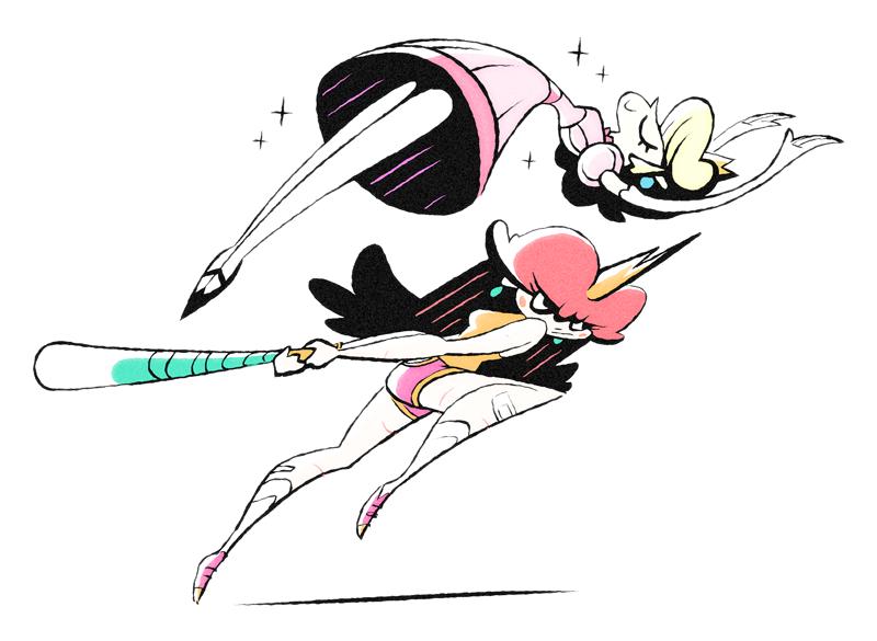 Peach + Daisy by FlashBros