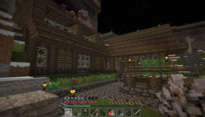 My first decent house by Legend9468