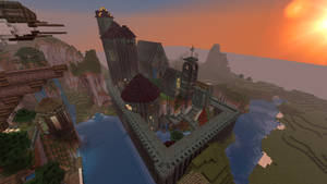 The as-of-yet-unnamed castle by Legend9468