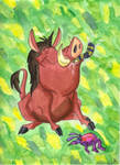 Pumbaa from the Lion King