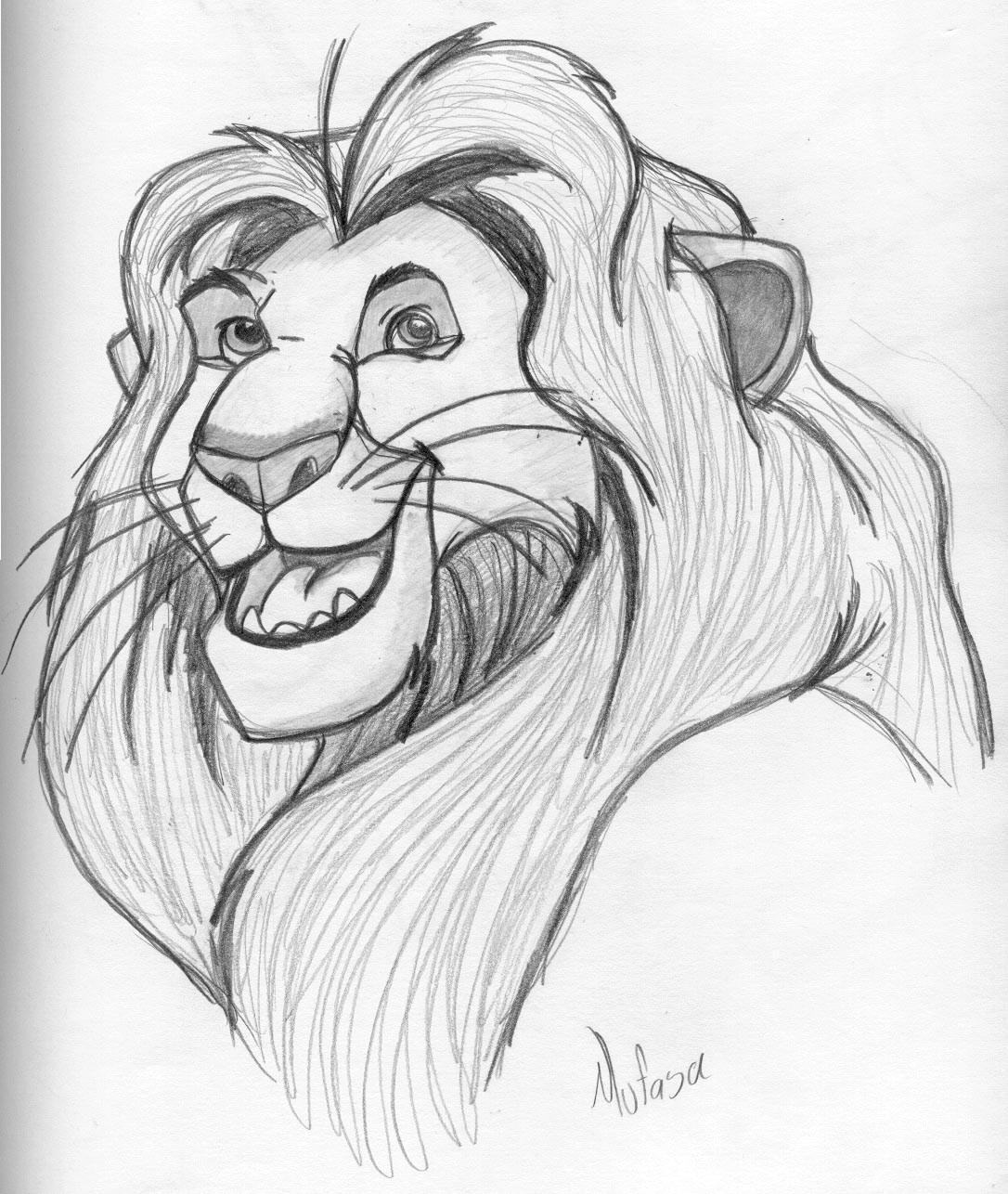 Lion King Drawing Mufasa