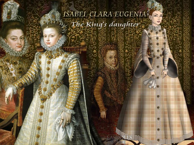 Isabella Clara Eugenia of Austria by Nurycat
