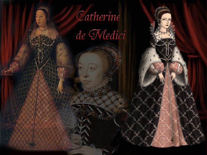 Catherine de Medici by Nurycat