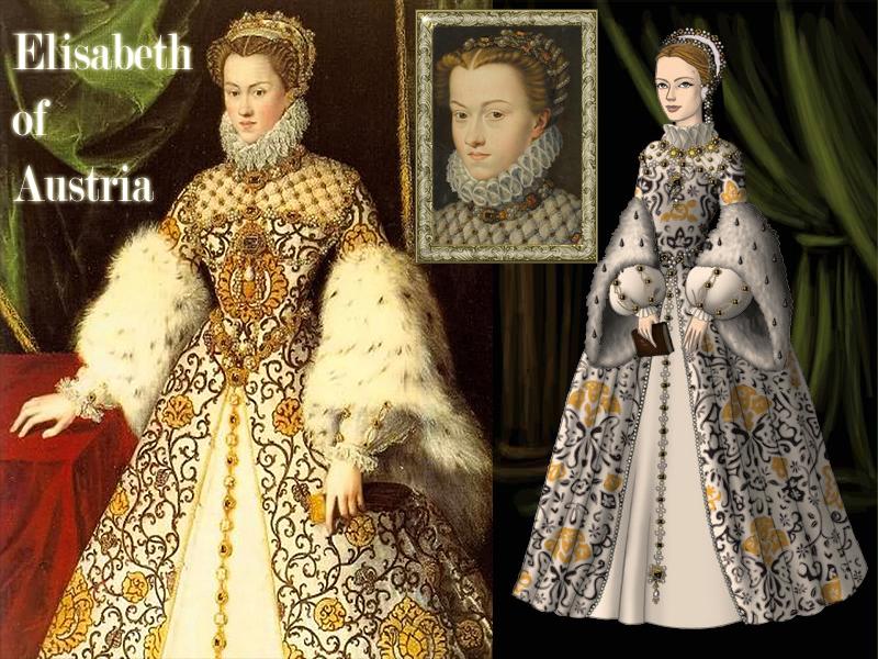Elisabeth of Austria, Queen of France by Nurycat