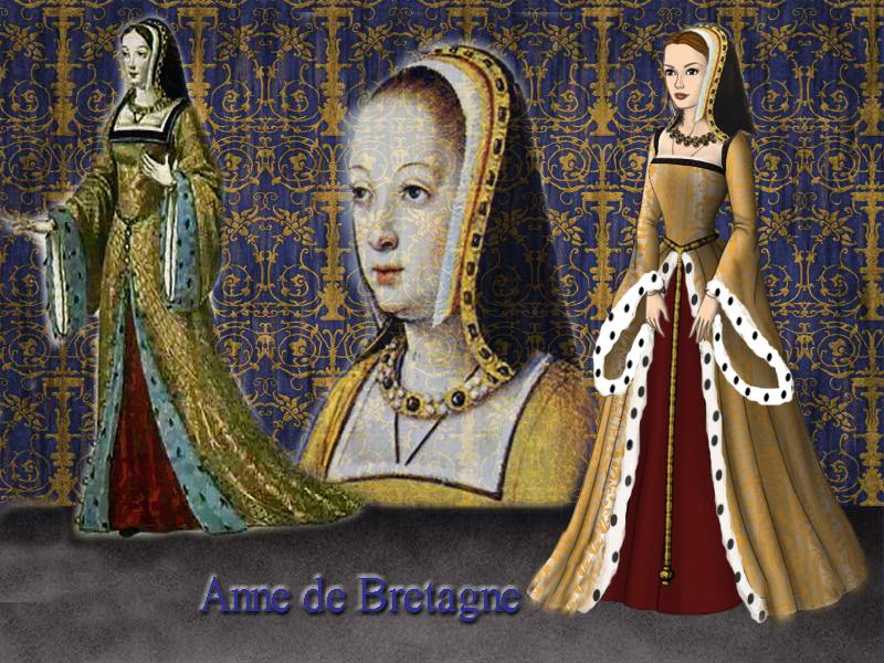 Anne De Bretagne Queen Of France By Nurycat