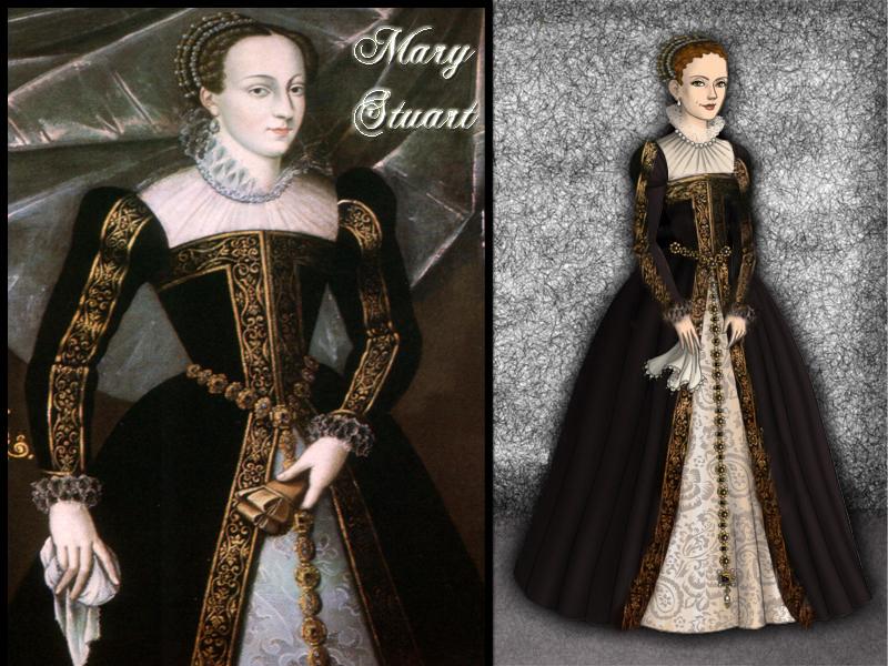 Mary Stuart by Nurycat