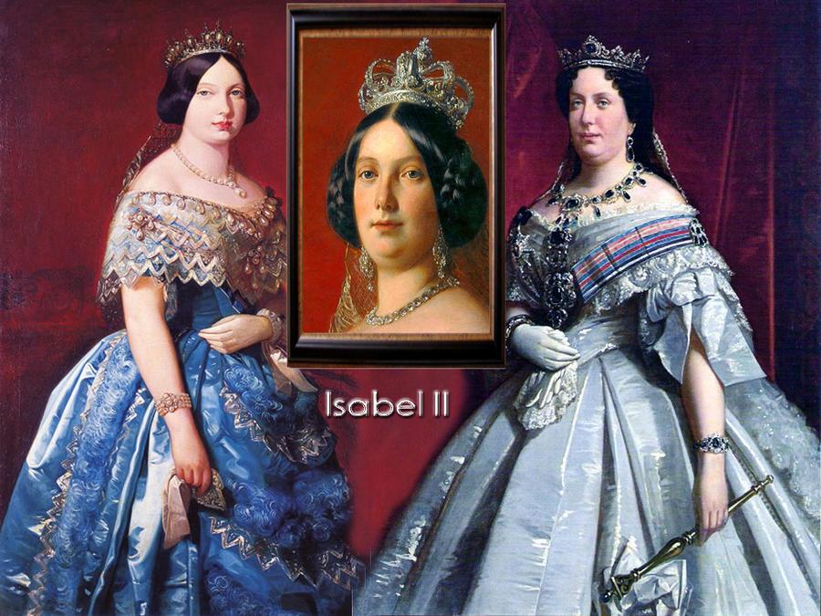Queen Isabella II of Spain by Nurycat