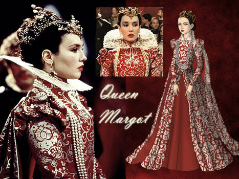 Queen Margot ( Isabelle Adjani)
