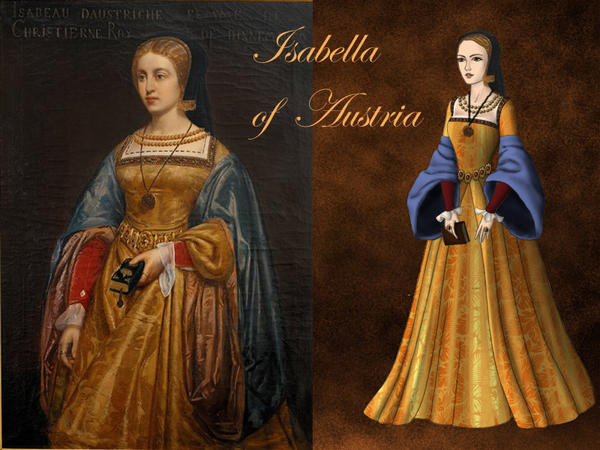 Isabella of Austria, Queen of Denmark by Nurycat