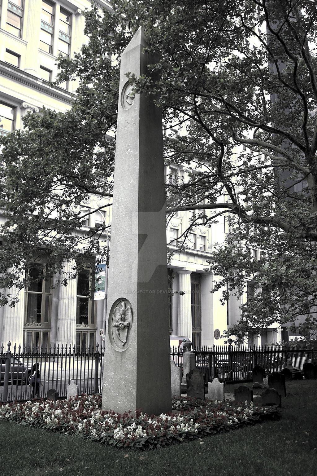 Ground Zero Obelisk by billyvector