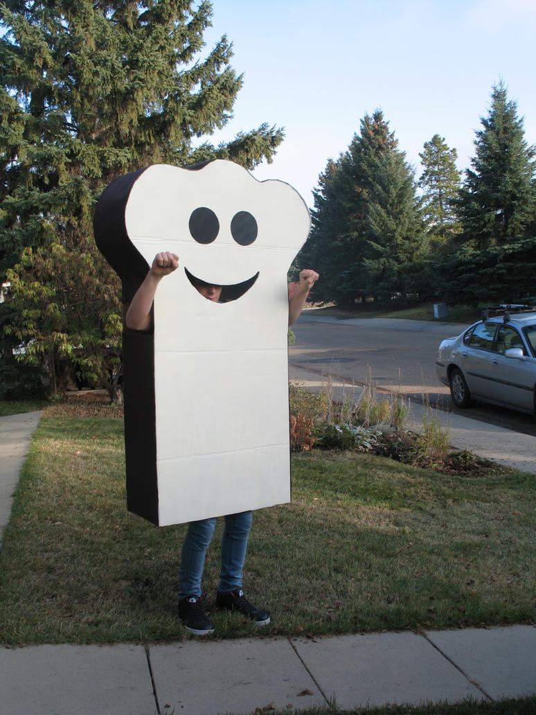 burnt toast halloween costume by thunderinparadise101