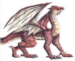 Fire Dragon by DemonAnime-Bloodlust