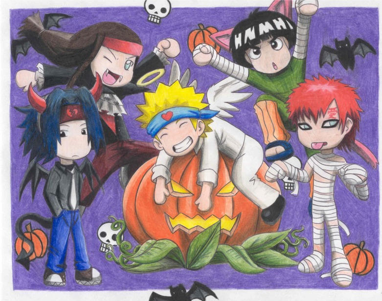 Naruto Halloween by DemonAnime-Bloodlust