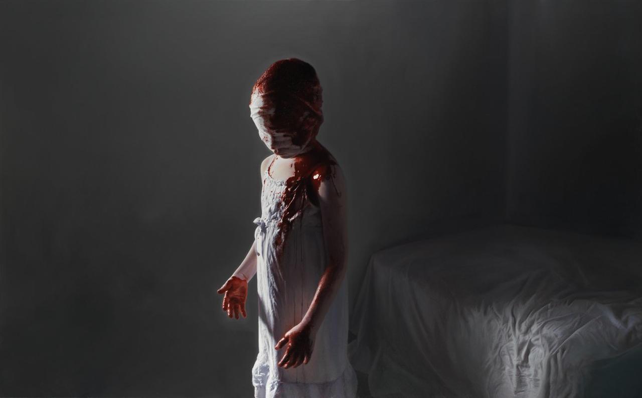 The Murmur of the Innocents 8 by gottfriedhelnwein
