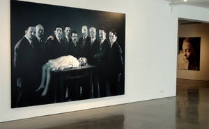 Helnwein Exhibition NYC 2 by gottfriedhelnwein