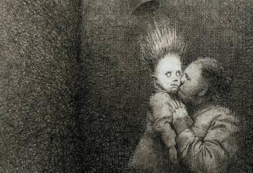 Kiss of Judas by gottfriedhelnwein