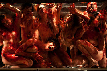 The 120 Days of Sodom by gottfriedhelnwein