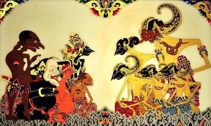 Pandava Krishna n Punakawan by bookgeeky