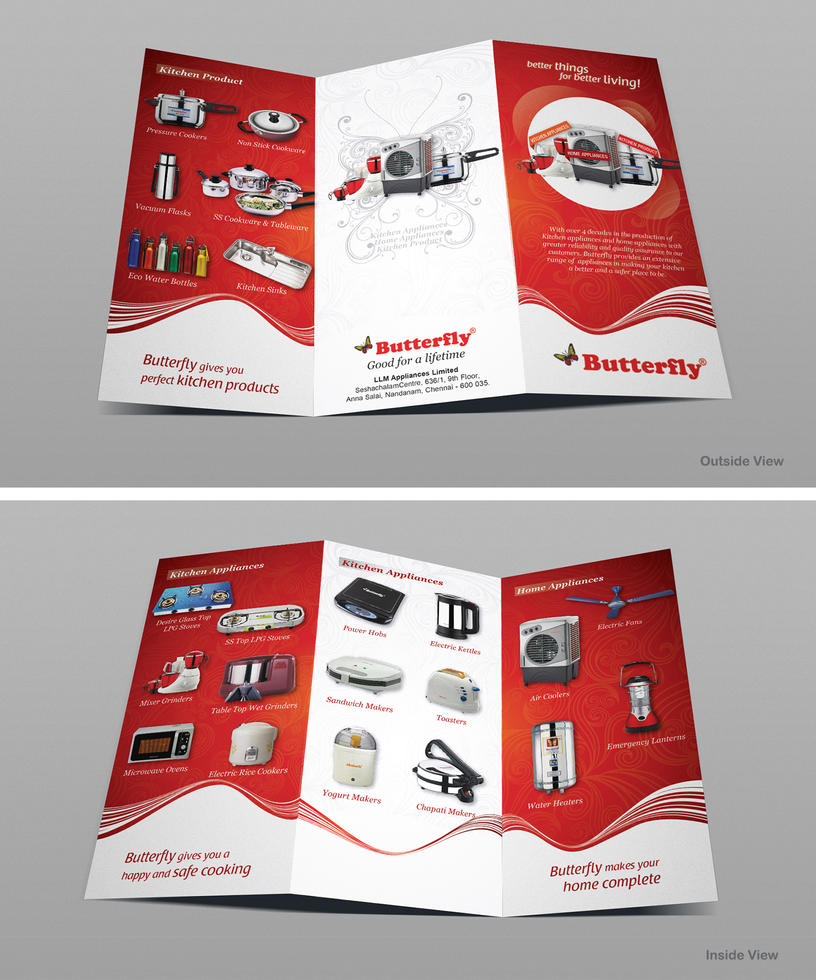 Butterfly India Trifold Brochure By Iyyanar On Deviantart