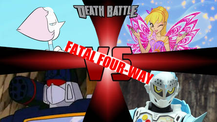 Death Battle - Fatal Four-Way 01 by ericenergyarms