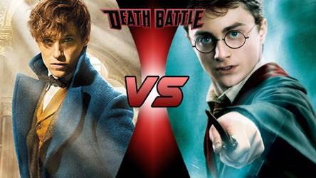 Death Battle - Newt Scamander vs Harry Potter by ericenergyarms