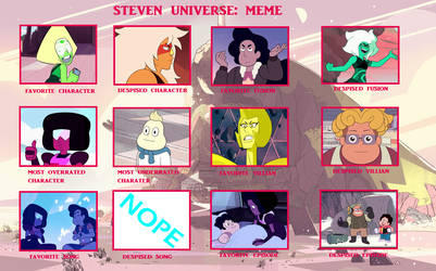 My Steven Universe Controversy Meme by ericenergyarms