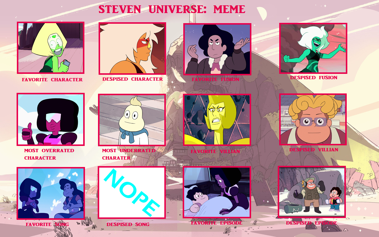 My Steven Universe Controversy Meme by ericenergyarms on ...