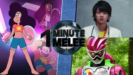 One Minute Melee - Stevonnie vs Kamen Rider Ex-Aid