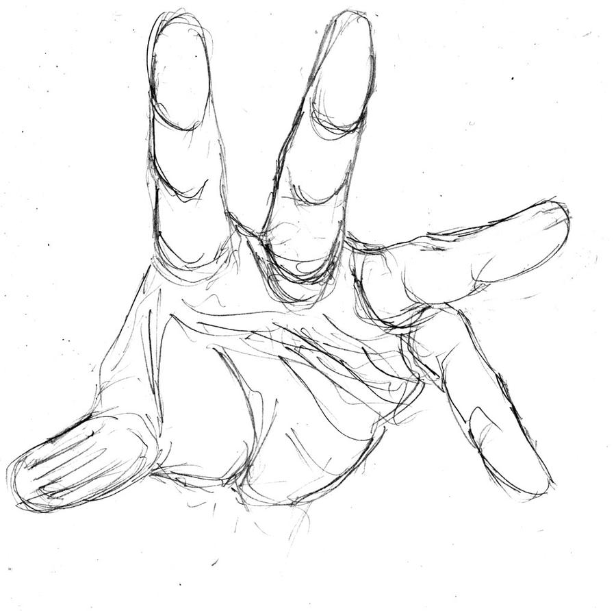 Sketches Of Hands Reaching Out Coloring Pages