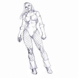 black canary for egoff :D by Selkirk