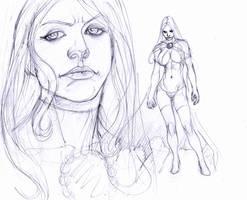 goblin queen day one..:fear: by Selkirk