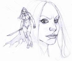 goblin queen day 5 ... by Selkirk